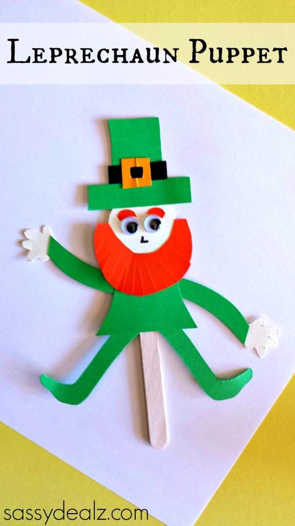leprechaun puppet