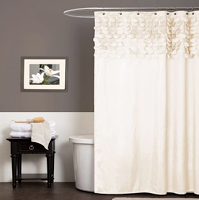 Kohls: Lush Decor Lillian Fabric Shower Curtain Only $16 Shipped (Reg $59.99!)