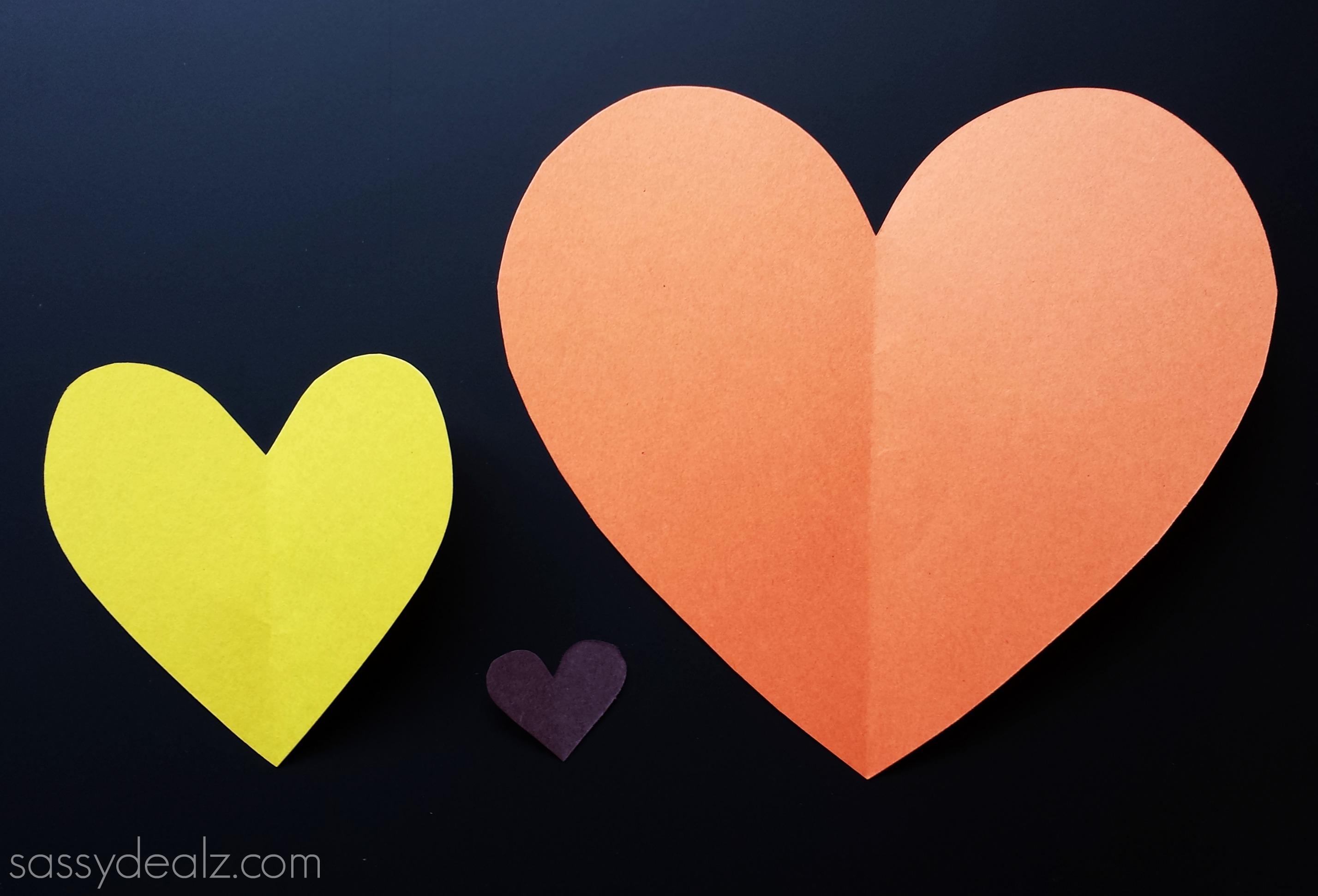 lion craft hearts