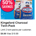 Lowes – 40 lbs Kingsford Charcoal Bags Just $4.99 each (Originally $9.99!)