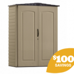 Lowes- Rubbermaid Roughneck 3-ft x 5-ft Gable Storage Shed ONLY $197 + Free In-Store Pickup (Reg. $297!)