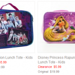 Kohls: One Direction & Rapunzel Kids Lunch Boxes Only $4.80 + Free Shipping (Reg $19.99!)