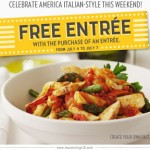 Romano's Macaroni Grill Buy One Get One Free Entree Printable Coupon