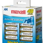 48 AA Maxwell Alkaline batteries 50% Off – As Low As $8 Shipped!