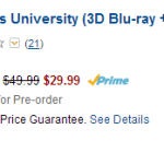 Pre-Order Monsters University Blu-ray DVDs For 50% Off