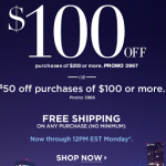 New York & Company – $50 off $100/ $100 off a $200 Purchase Online Promo Code + Free Shipping (Only until Monday!)