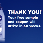 Free Sample of Nivea Extended Moisture or Smooth Sensation Lotion