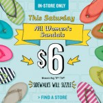 Old Navy – $6 Women's Sandal Sale this Saturday July 20th (Reg $9.94-$24.94!)