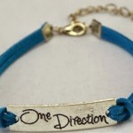 One Direction Leather Bracelet Only $2.99 + Free Shipping