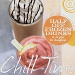 Panera Bread – Half Off Frozen Drinks 3-5PM Everyday in August!