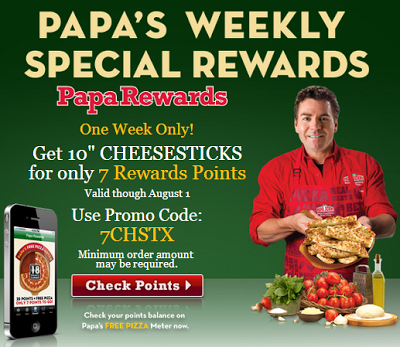 Papa John's is a major pizza retailer which operates the website vegamepc.tk of today, we have 9 active Papa John's promo codes, 1 single-use code and 2 sales. The Dealspotr community last updated this page on November 23, On average, we launch 7 new Papa John's promo codes or coupons each month, with an average discount of 40% off and an average time to expiration of 21 days/5(K).