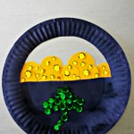 Paper Plate Pot of Gold Craft For St. Patrick's Day