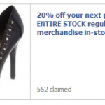 Payless Shoes – Get 20% Off Entire Regular Price Purchase Online and In-Stores (Valid thru August 4th)