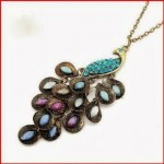 Retro Peacock Pendent Necklace Only $1.02 + Free Shipping!