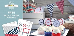 FREE 4th of July Party Printables from PearTreeGreetings