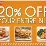 Perkins Restaurant – Get 20% Off Your Entire Bill Printable Coupon (Email Sign-Up)