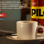 Free Sample of Cafe Pilon Coffee