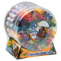 *HOT* 50 Pip-Squeaks Markers Telescoping Tower Only $7.99 (Reg. $16.99!)