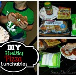 DIY: Make Healthy Pizza Lunchables (Kid Approved Recipe!)