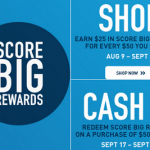 PUMA- Earn $25 in Score Big Rewards For Every $50 You Spend! (August 9th-Sept. 8th)