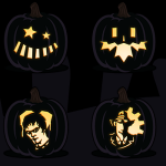 Free Printable Pumpkin Carving Templates & Patterns (In PDF Form)
