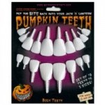 50% Off Plastic Pumpkin Teeth for your Jack O' Lantern's Mouth + Free Shipping for Halloween!