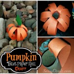 DIY: Pumpkin Toilet Paper Roll Craft For Kids (Fun For Halloween!)