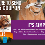 $5.15 Off One Package of Purina Pro Plan Dog/Cat Food (Printable Coupon)