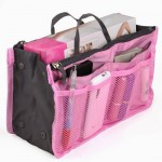 Nylon Pink Purse Organizer Only $3.22 + Free Shipping