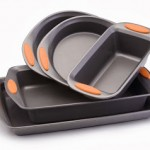 Rachael Ray Oven Lovin' Non-Stick 5-Piece Bakeware Set, Orange 67% Off!!