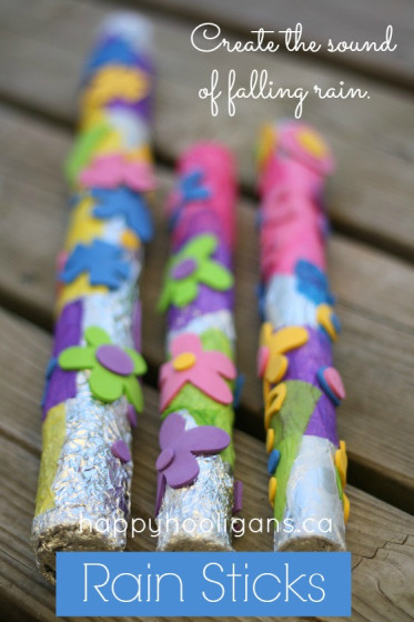 Easy Rain Stick Craft