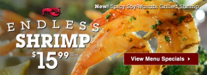 Red Lobster- Endless Shrimp Deal For Only $15.99 is BACK! (Thru 9/29)