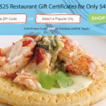 $25 Restaurant.com Gift Certificates ONLY $4 w/ Online Promo Code! (Exp 9/10)