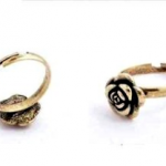 Adjustable Bronze Rose Ring Only $0.69 Shipped!