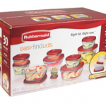 Walmart: Rubbermaid 30-Piece Easy Find Lid Set Only $6.92