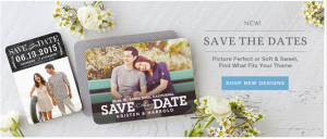 Wedding Paper Divas- Get $15 Off Save the Date Orders of $75 + Free Shipping w/ Promo Codes