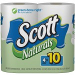 HURRY! 4 Scott Naturals MEGA Rolls Only $2.19 + Free Shipping!