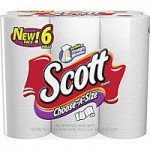 Staples- 6 Rolls of Scott Paper Towels ONLY $3.99 + Free Shipping!