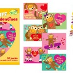 Monkey Scratch & Sniff Kids Valentine Cards on Sale