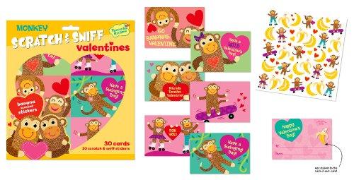 monkey valentine cards