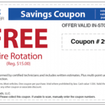 Sears Auto Center- Free Tire Rotation and Brakes Evaluation w/ Printable Coupons (Thru 8/31)