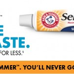 Free Arm & Hammer Sensitive Toothpaste Sample