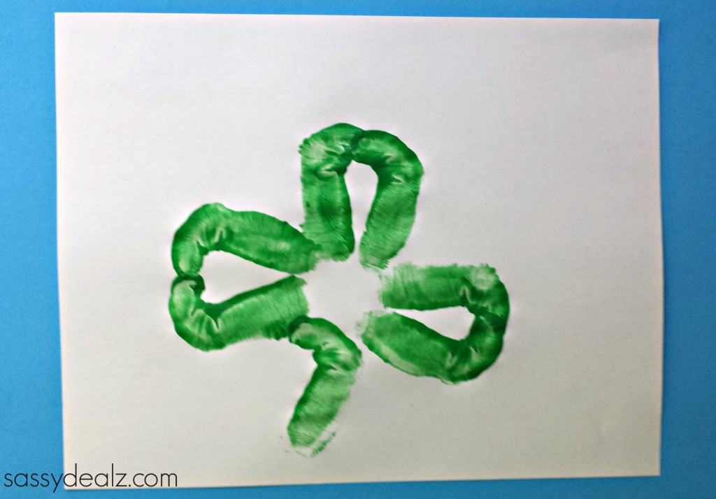 footprint shamrock craft