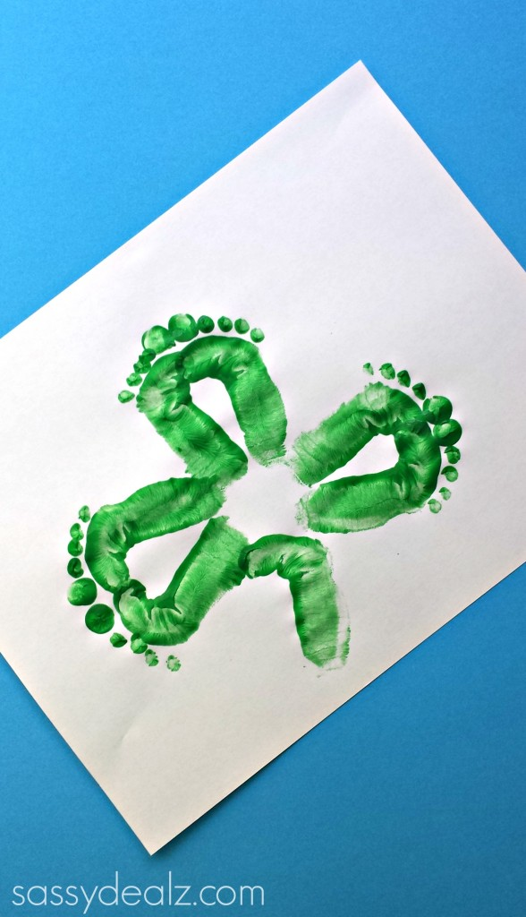 shamrock-footprint-craft