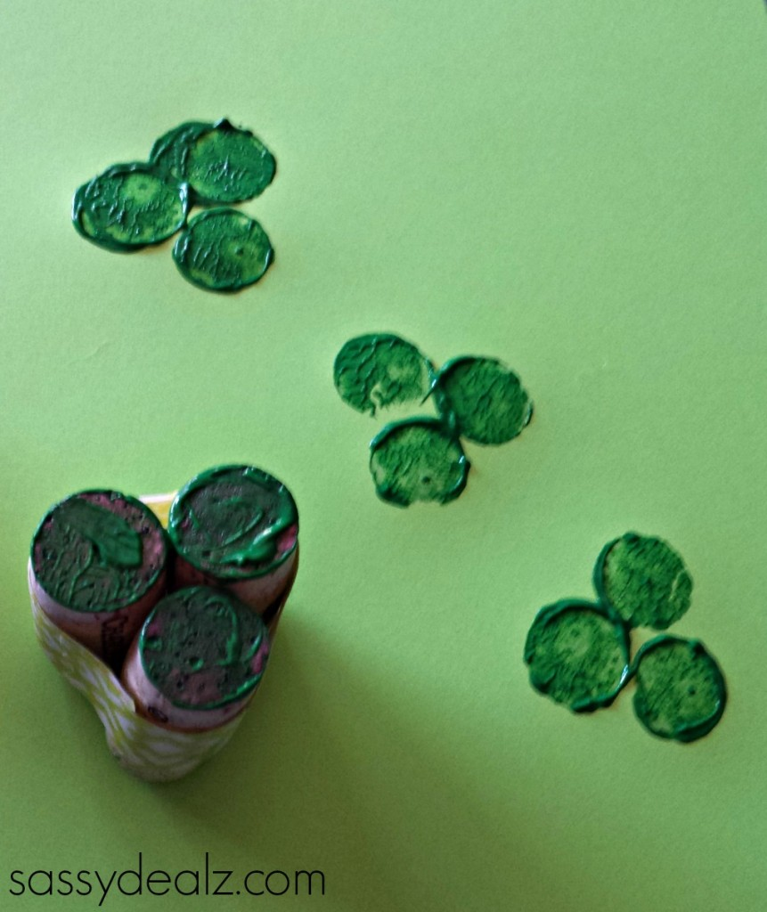 shamrock-wine-cork-craft