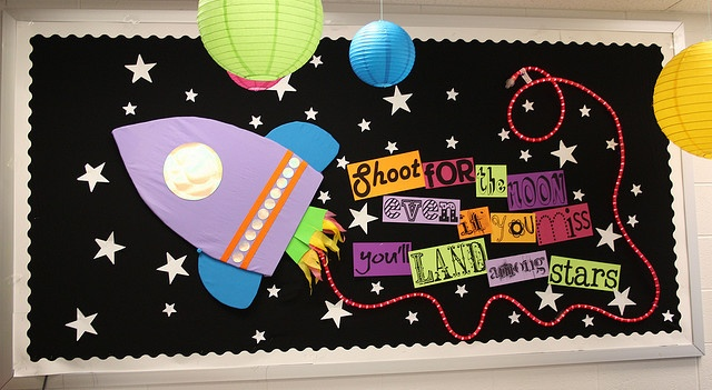 Shoot For The Moon Bulletin Board