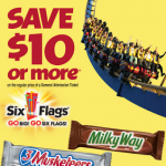 Six Flags Printable Coupon $10 off a Regular Price General Admission Ticket
