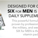 Free SIX Nutrition Vitamins Sample Pack For Men
