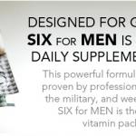 Free SIX Nutrition Vitamins Sample Pack For Men