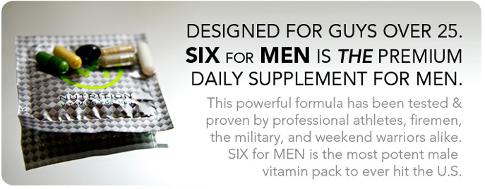 Free Six Nutrition Vitamins Sample Pack For Men Sassy Dealz